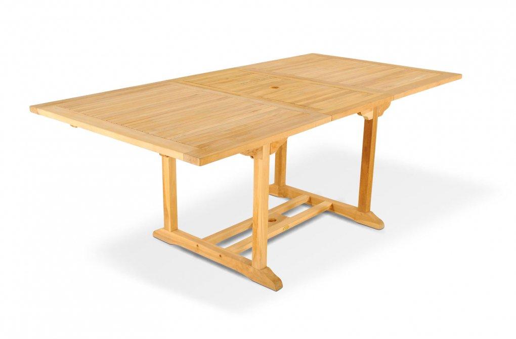 SAM® Gartentisch Esstisch Tisch Terrasse ausziehbar 150-200cm ...