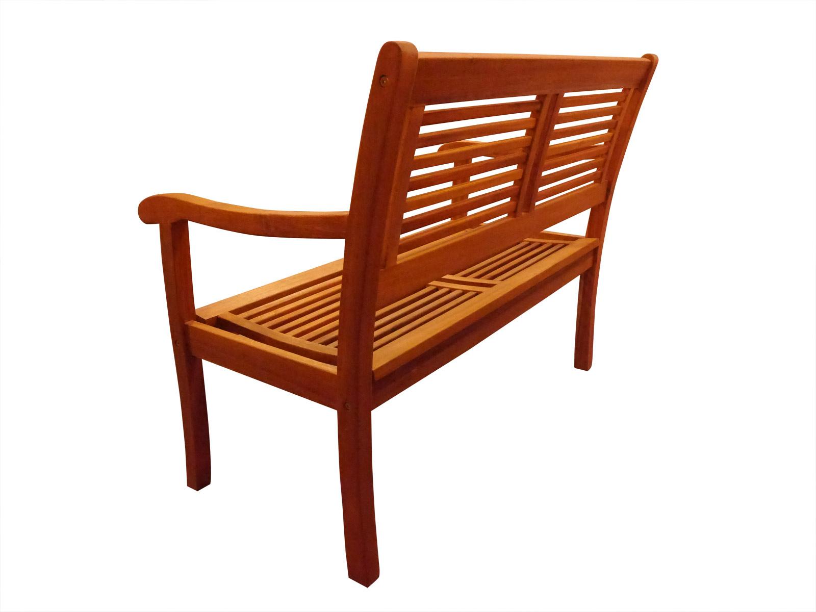 Gartenbank Akazie 110 Cm 2 Sitzer Sitzbank Cordoba Ebay